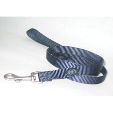 Nylon Lead with Swivel Snap in Gray