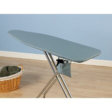 Deluxe Series Ironing Board Cover in Blue and Silicone Coated