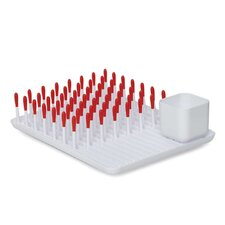 Bottle Drying Rack in Orange