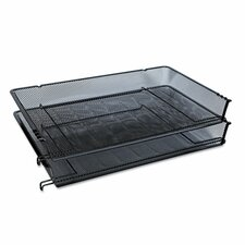 Mesh Stackable Side Loading Tray