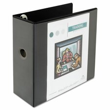 "5"" Comfort Grip Deluxe Plus D-Ring View Binder"