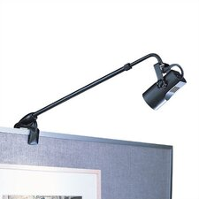 Low Voltage 50 Watt Adjustable Clamp Display Light with Plug-In Electronic Transformer