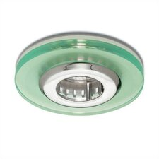 "4"" Low Voltage Acrylic Disc Recessed Lighting Trim"