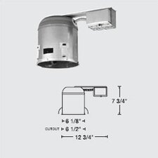 "6"" Compact Fluorescent IC Housing"