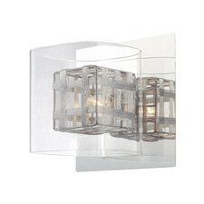 Jewel Box 1 Light Bath Vanity Light