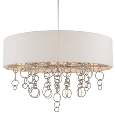 Ringlets 12 Light Drum Pendant