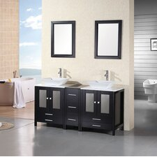 "Jacoby 61"" Double Sink Vanity Set"