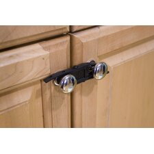 Sling Cabinet Closure in Black (Pack of 4)