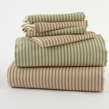 Antique Ticking Sheet Set