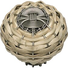 Hamptons Small Bamboo Weaved Knob
