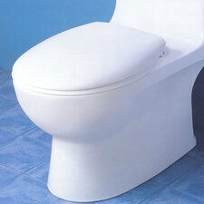 Carvelle Round 1 Piece Toilet