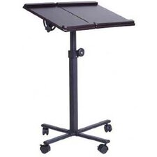 HomCom Deluxe Laptop Cart