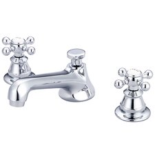 London Widespread Bathroom Faucet with Double Cross Handles