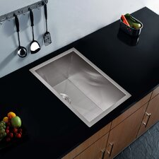 "20"" x 15"" Zero Radius Undermount Bar Sink"