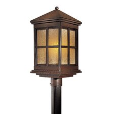 Berkeley 1 Light Outdoor Post Lantern