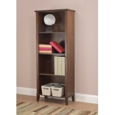 Sheridan Bookcase in Warm Walnut