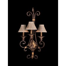 Zaragoza 3 Light Wall Sconce