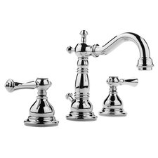 Nantucket Widespread Bathroom Faucet with Double Lever Handles