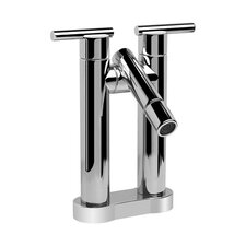 Tango Centerset Bathroom Faucet with Double Lever Handles