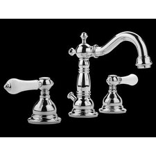 Canterbury Widespread Bathroom Faucet with Double Lever Handles