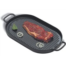 Cast Iron 13.75' Grill Pan