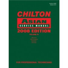Chilton 2008 Asian Service Manual Volume 4