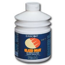 Zinc/Hard Glaze Coat Finishing Putty