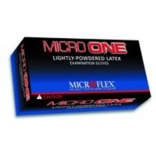 Glove Micro One Powdered Medium 100 Box