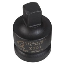Socket Impact Adapter 1/2In. Female 3/8In. Male