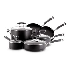 Contempo Aluminum 10-Piece Cookware Set