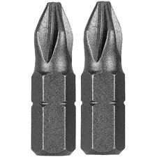 Extra Hard No.6-8 Slotted Insert Bit (Set of 2)