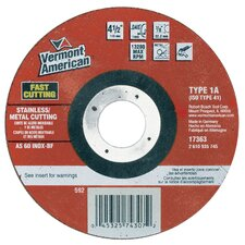 Type 1 Metal Thin Cutting Disc