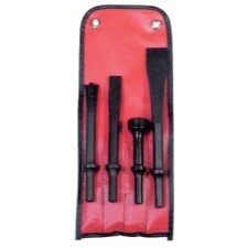 Pneumatic Bit-4 Pc Set In Pouch