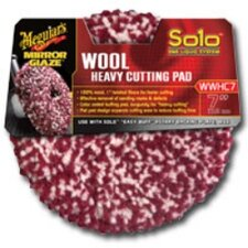 Solo Wool Heavy Cutting Pad 7""