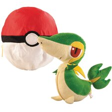 Pokemon Transforming Snivy and Pokeball