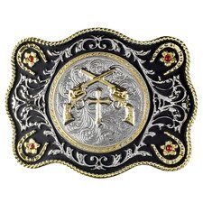 Crossed Pistols Buckle