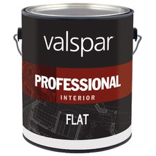 1 Gallon White Flat Interior Professional Series Paint