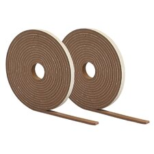 Waterproof and Airtight Foam Weather Strip Tape (Set of 2)