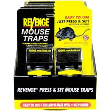 Revenge Press and Set Traps for Mice