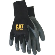 Rainwear Boss Fully Coated Latex Palm Gloves in Black