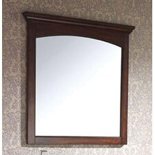 "Vermont 36"" Wall Mirror in Mahogany"