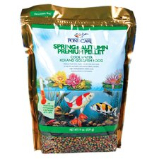 19 oz. Spring and Autumn Premium Pellets Pond Fish Food
