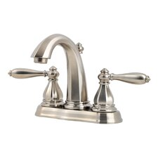 Portola Double Handle Centerset Bathroom Faucet