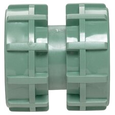 Green Heavy Duty Swivel Double Union Coupler
