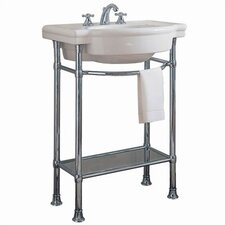 Retrospect Console Table with Bathroom Sink