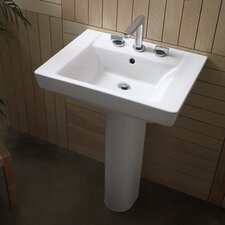 Boulevard Pedestal Bathroom Sink Set