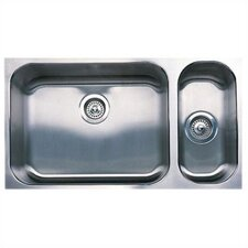"Spex 32"" x 18"" Plus Bowl Undermount Kitchen Sink"