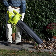 3- In -1 Electric Blower, Vacuum and Leaf Shredder
