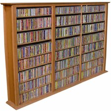 VHZ Entertainment Regular Triple Multimedia Storage Rack