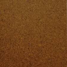 "Classic 12"" Cork Flooring in Medium Shade Unfinished"